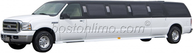 Boston Limo Ford Excursion Stretch SUV Limousine