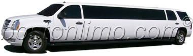 Boston Limo Cadillac Escalade Super Stretch SUV Limousine