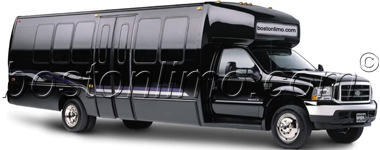 Boston Limo Limousine Bus